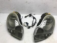 99 00 01 Porsche 996 911 OEM LEFT RIGHT XENON LITRONIC HEADLIGHTS HEAD LIGHTS