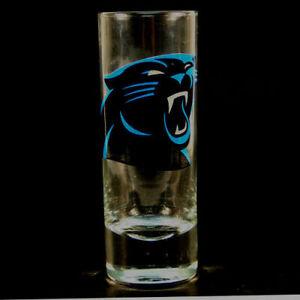 "Carolina Panthers NFL ""Hype"" Tall Shot Glass"