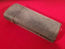 LARGE LATE GEORGIAN SHAGREEN COVERED DRAUGHTSMANS DRAWING CASE & CONTENTS c.1815
