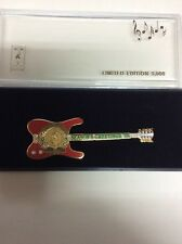 Atlanta Olympic Games Limited Edition Guitar Pin: Seasons Greetings Pin
