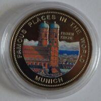Uganda 1000 Shillings 1994 Frauenkirche in München