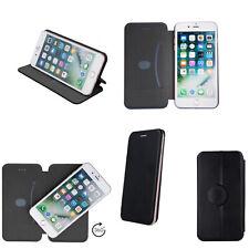 Handytasche für Smartphone Medion E5008 MD60746 Klapp Etui Hülle schwarz