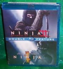 NEW RARE OOP SCOTT ADKINS NINJA NINJA II SHADOW OF A TEAR DOUBLE FEATURE BLU RAY