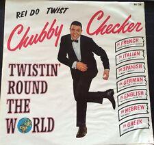 Chubby Checker Brazil LP Twistin' Round the World
