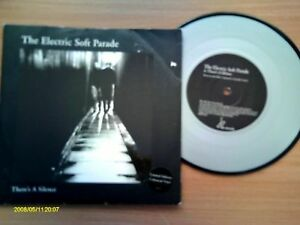 ELECTRIC SOFT PARADE. THERE'S A SILENCE. SILVER VINYL