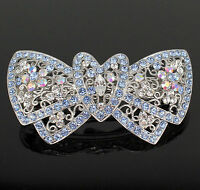 Chryse Autrichien Strass Cheveux Pince Pince Clip Barrette poney Titulaire C716 nude