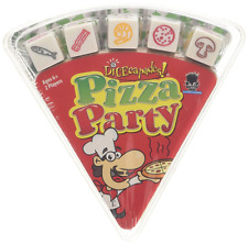 Pizza Party Travel Fun Dice Board Game For 2 Two Children Kids  Games + FREE P&P