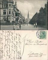 Ansichtskarte Hannover Hohenzollernstraße - Kinder 1911