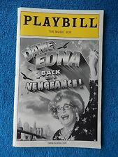 Dame Edna Back With A Vengeance! - Music Box Playbill w/Ticket - April 6th, 2005