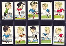 Sunday Empire News FAMOUS FOOTBALLERS OF TODAY Nr Complete Set 45/48 +3 Wrappers