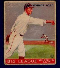 Horace Ford 1933 Goudey #24 Boston Braves VG/Ex 16135