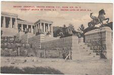 CGH: EDVII Postcard, Rhodes Memorial, Groote Schuur: Cape Town-Kimberley, 1911