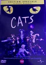 DVD COMME NEUF MUSICAL CATS EDITION SPECIALE DISQUE DOUBLE ELAINE PAIGE WEBBER