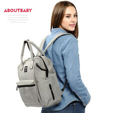 HOT~Large Multifunctional Baby Diaper Backpack Mommy Backpack Nappy Changing Bag
