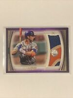 2021 Topps Definitive PETE ALONSO New York Mets #'d /5 Jumbo Patch DIRTY #DJR-PA