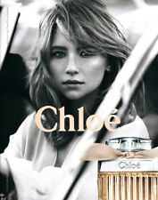Haley Bennett 2-page clipping 2017 ad for Chloe