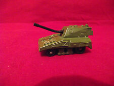 MATCHBOX 1976 GREEN TANK WITH GUN~SCALE 1:64  MAKE IN ENGLAND