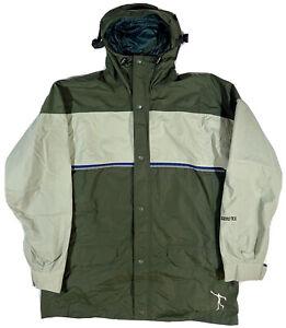 Vintage Sessions Gore Tex Jacket Coat Jamie Lynn Snowboarding Men's Size Medium