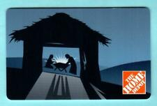 THE HOME DEPOT Nativity  2007 Gift Card ( $0 )
