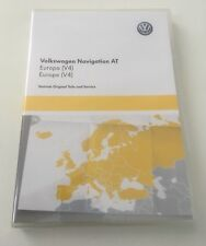 VW Discover Media SD Europe Navigation Maps - New In Box