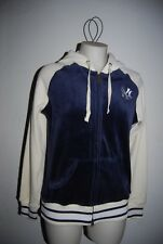 TOUCH Alyssa Milano NEW YORK YANKEES Zip Velour Hoodie Jacket Size Medium M NWT