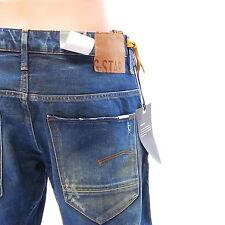 G-STAR RAW ARC 3D Mens Slim Stretch Denim Jeans Medium Aged Retail $180 36 x 32