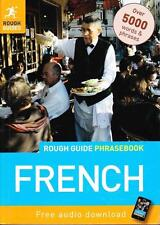 FRENCH PHRASEBOOK - WITH FREE AUDIO DOWNLOAD ROUGH GUIDE EXCELLENT ALMOST NEW CO