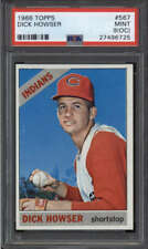 1966 TOPPS #567 DICK HOWSER MINT(OC) PSA 9 GR1737