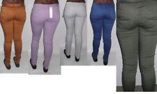 Denim Coloured Mid Rise Jeans for Women