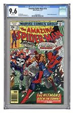 Amazing Spider-Man #174, CGC 9.6 with White pages.