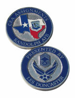 US AIr Force CEA Assignments Randolph AFB Challenge Coin