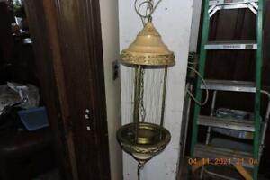 Vintage Greek goddess Mineral oil motion Rain Lamp Hanging Swag