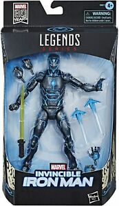 Marvel Legends Series Invincible Iron Man Action Figure - 80 Years Anni Edition