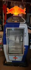 Red Bull Gas Pump Fridge (Rare) In Great Working Condition (Large Size) Nice