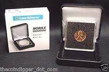 32mm Gold 1oz Krugerrand Coin Snap Display 2x2 NOBILE Box QUADRUM INTERCEPT Case