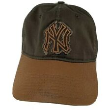 New Era NY Baseball Cap NEW YORK Yankees Brown Distressed Hat One Size