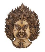 Soprammobile Tibetano Mahakala Dieu Buddista Protettore 33 CM Tibet -5876 - B15