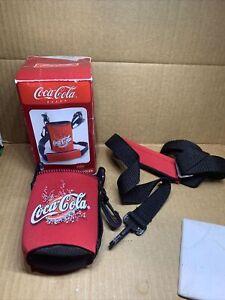 coca cola neck strap can cooler (2-92)