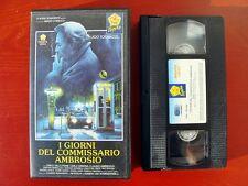 VHS.09) I GIORNI DEL COMMISSARIO AMBROSIO - PENTA VIDEO (UGO TOGNAZZI)
