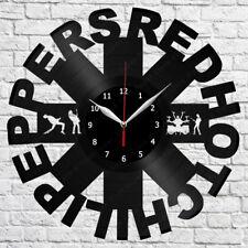 Red Hot Chili Pepers Vinyl Record Wall Clock Fan Art Wanduhr 559