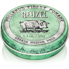Reuzel  Grease Medium Pomade per Capelli  Tenuta Media 113 g