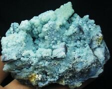 117g AAA pretty blue Gibbsite crystals mineral specimens #China!
