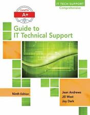 A+ Guide for IT Technical Support by Jean Andrews (2016, Hardcover)