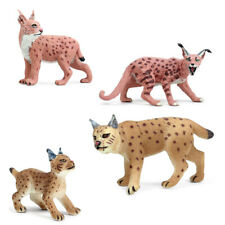 Lynx Leopard Cat wild Felidae Animal Figure Model Toy Collector Decor Kid Gift