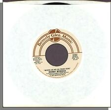 "Bobby Womack - Where Do We Go From Here + Just My Imagination - 7"" 45 RPM!"