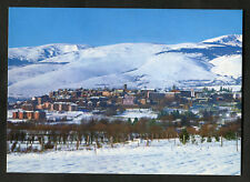C1980s View: Snow Covered Puigcerda: Trees: Pirineus Orientales: Mountains