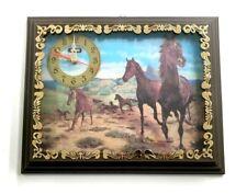 Aries Quartz Horses Wall Clock