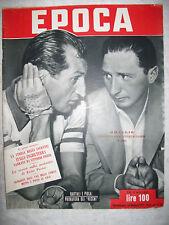EPOCA  maggio 1952  GINO BARTALI  SILVIO PIOLA