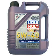 Liqui Moly BASSA VISCOSITA' HIGH TECH 5W-40 olio lubrificante 5 litri