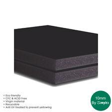 A1 Black Foam Board, 10MM , 5 Sheets per pack